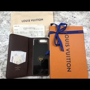 Louis Vuitton cell phone case Brand New never used
